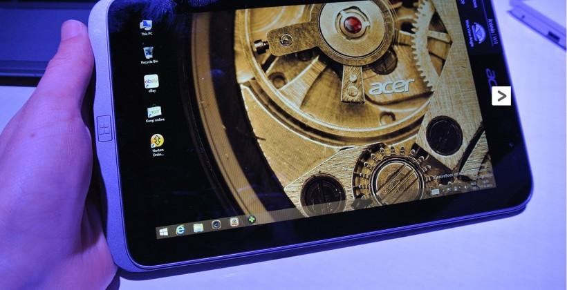 Acer Iconia W4 sighted in hands-on video, powered by Intel Bay Trail