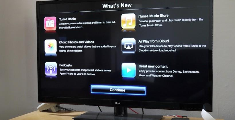 Apple TV 6.0 adds AirPlay from iCloud, iTunes Radio, more