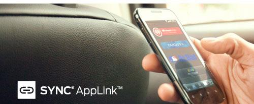 Ford Sync Applink Mobile app catalog and Applink 2.0 jump over the pond