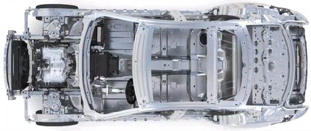 Jaguar C-X17 demos lightweight aluminum unibody architecture for future models