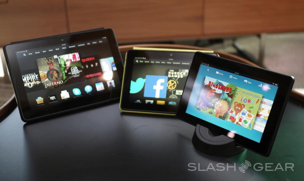 Kindle Fire HDX 7 official with 1920 x 1200 display - SlashGear