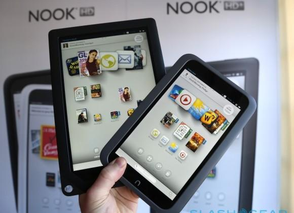 Nook HD and HD+ tablet pricing in the UK slashed