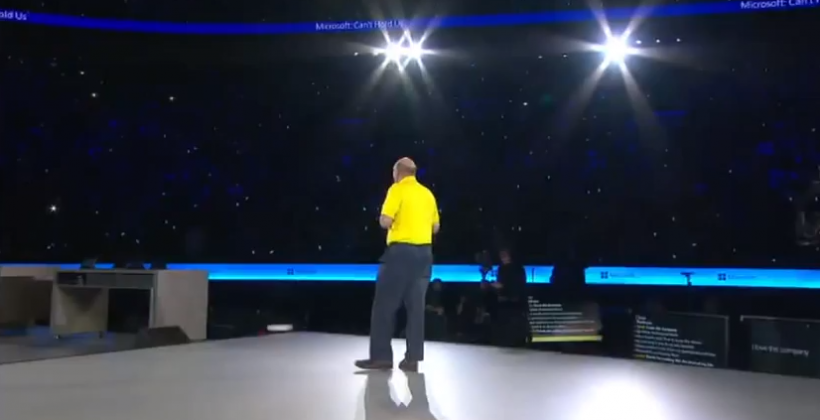 Steve Ballmer delivers his final emotional speech to Microsoft employees