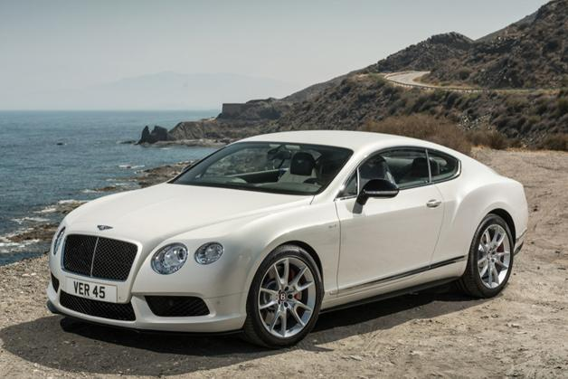 Bentley Continental GT V8 S revealed