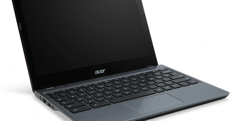 Acer C720 Chromebook brings Haswell with a C7 reboot