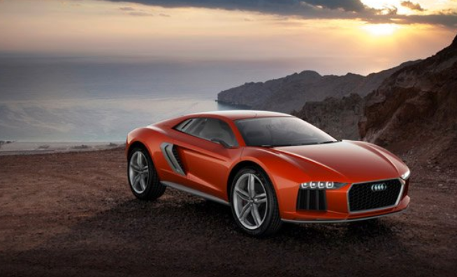 Audi nanuk quattro concept sports car introducd at IAA car show