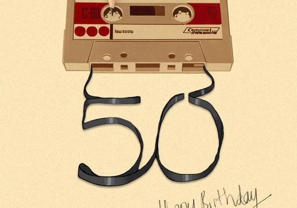 The obsolete cassette tape turns 50
