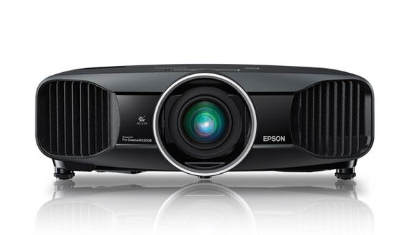Epson Powerlite Pro Cinema 6030UB and Home Cinema 5030UB/UBe support 2-D and 3-D content