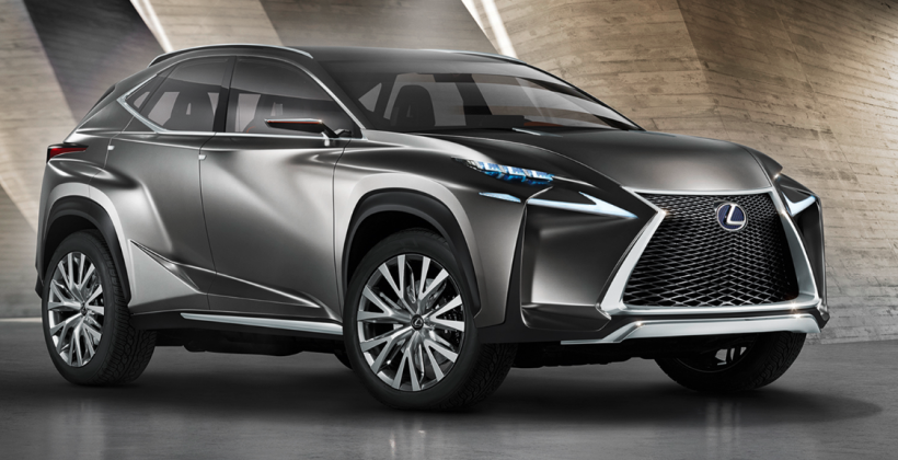 Lexus Hybrid Suv >> Lexus Lf Nx Crossover Hybrid Concept Aims At Compact Suv In