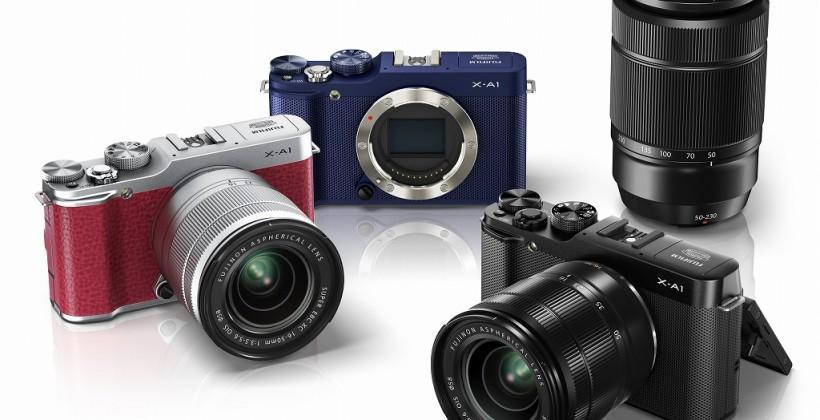 Fujifilm X-A1 unveiled, interchangeable-lens camera with APS-C CMOS sensor