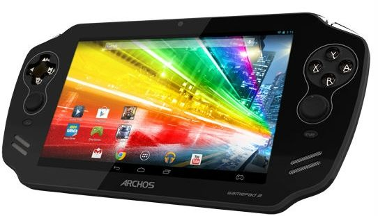 Archos GamePad 2 surfaces with quad-core processor and memory increase