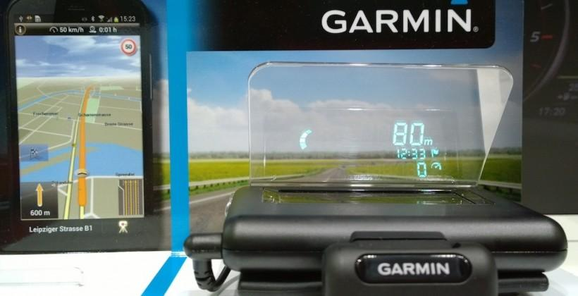 Garmin HUD hands-on: A head-up display for the freeway fighter pilot
