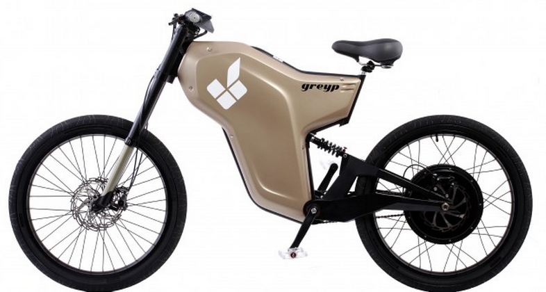 Greyp G12 fingerprint-activated motor bike starts with the touch of a thumb