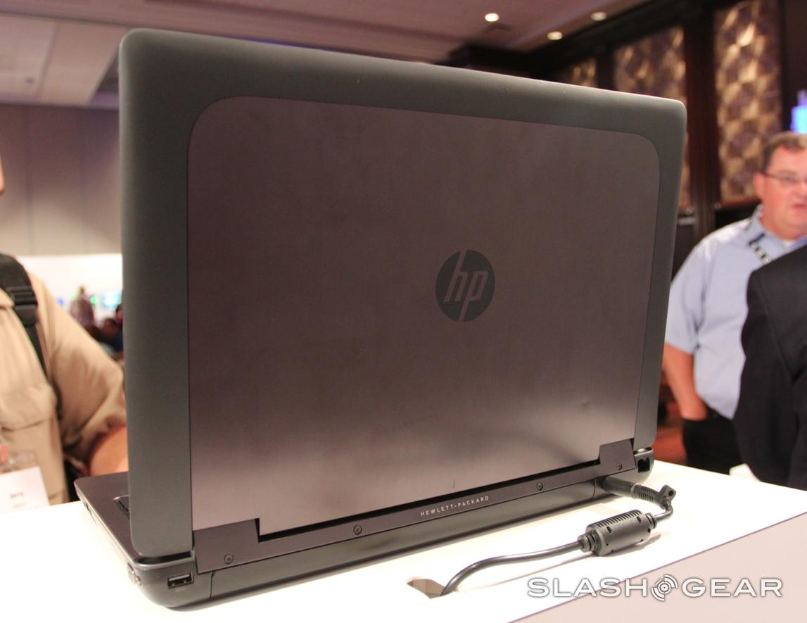 HP ZBook 15 and 17 hands-on: Thunderbolt arrives with