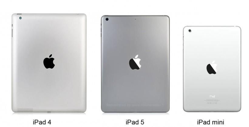 iPad 5 and iPad mini 2 in Space Gray: measured and compared