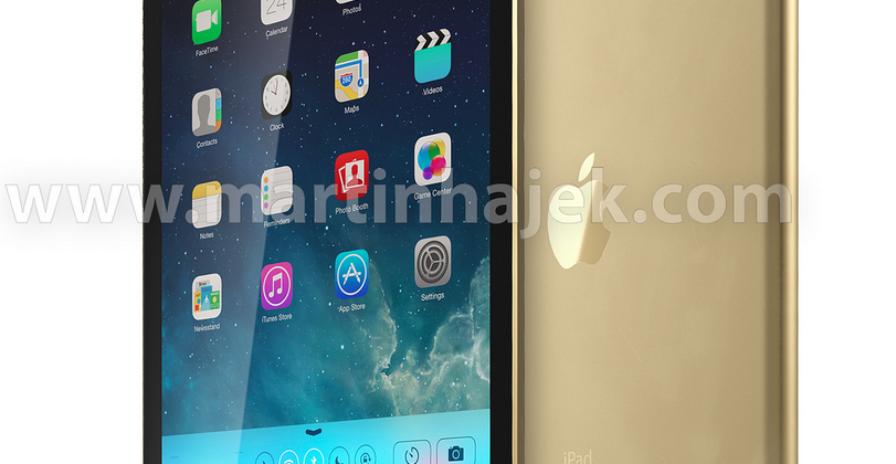 iPad 5 in Gold: three color SIM trays appear in repair shops