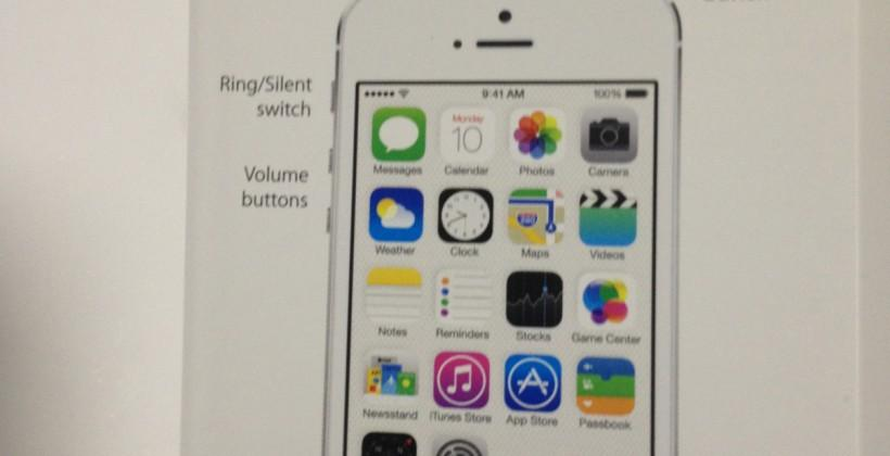 iPhone 5S home button with Touch ID sensor seen in leaked photo