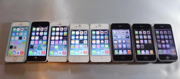 iPhone comparison video shows how Apple has improved over time