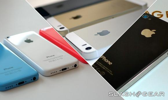 iPhone 5S vs 5C vs 4S: battle for iOS 7 supremacy