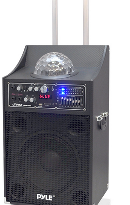 """Pyle Audio Disco Jam """"party machine"""" offers 10″ subwoofer and Bluetooth"""