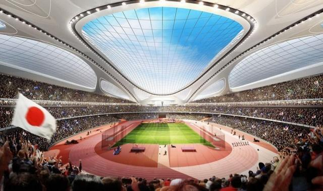 Tokyo 2020 Olympics stadium one of several retro-fitted arenas