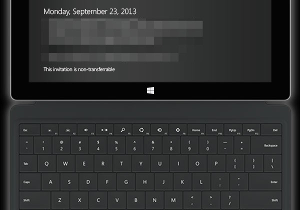Surface 2 and Surface Pro 2 event September 23rd Microsoft confirms