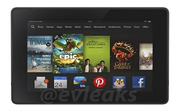 New Kindle Fire HD 2 image leaks