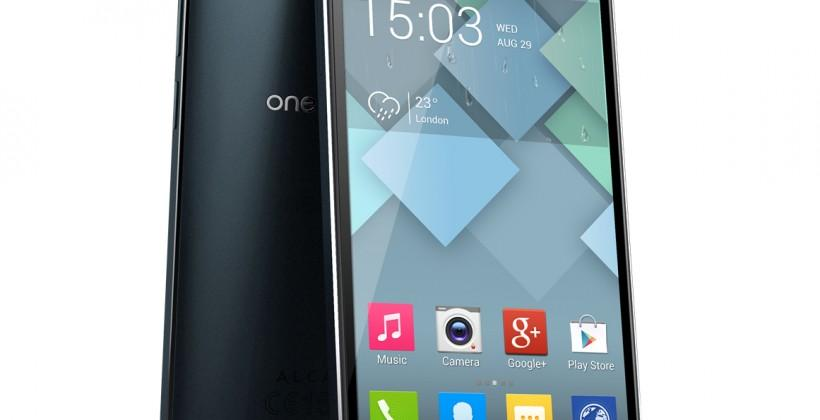 Alcatel ONE TOUCH IDOL ALPHA revealed with light-up edges