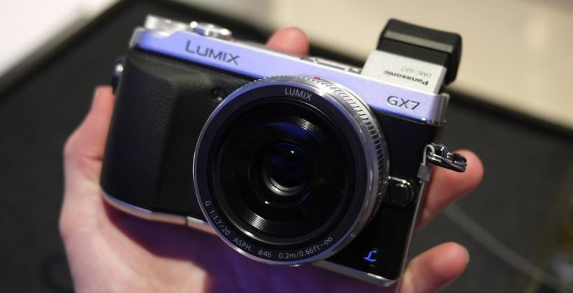 Panasonic Lumix GX7 hands-on