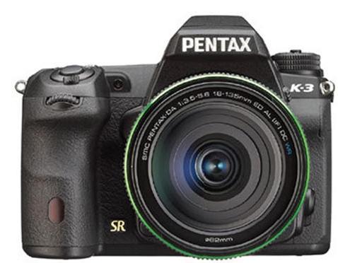 Pentax K-3 DSLR press shot and specs leak