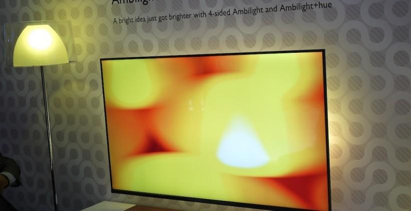 Philips Elevation Ambilight+Hue TV eyes-on
