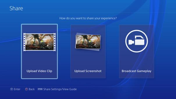PlayStation 4 screenshots show off new home screen UI and video ...