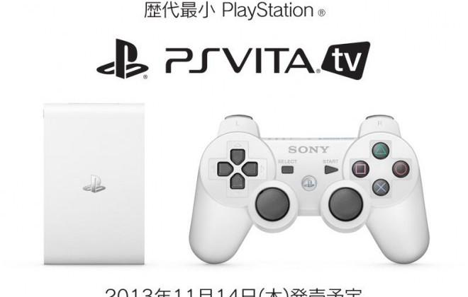 PS Vita TV mini game console with streaming service