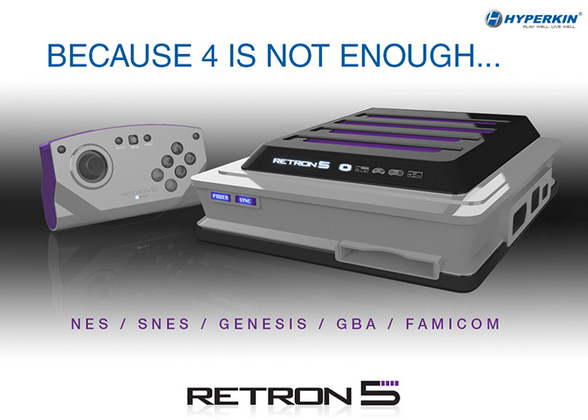 Hyperkin RetroN 5 multi-console release set for December 10th