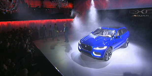 "Jaguar C-X17 revealed: ""pretty feasible"" for market release"