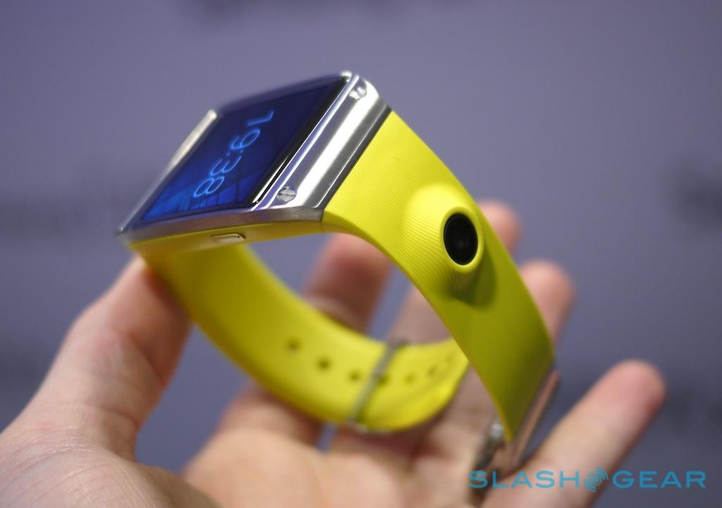 Samsung Galaxy Gear hands-on - SlashGear