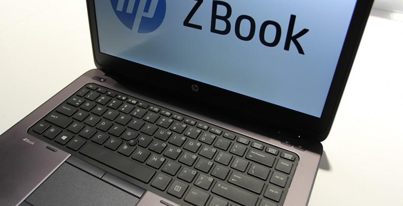 HP ZBook 14 hands-on: the world's first workstation Ultrabook