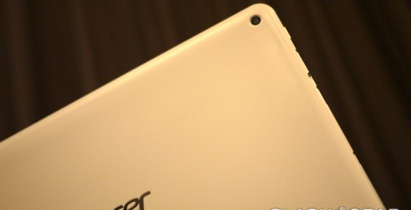 Acer Iconia A3 hands-on: budget hunting on a 10.1-inch tablet