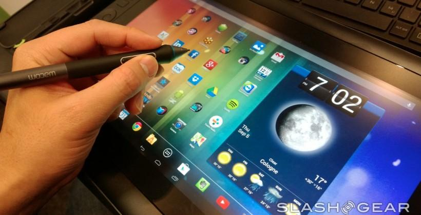 Wacom Cintiq Companion Hybrid hands-on: Android/desktop dual-wielding