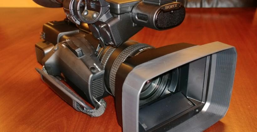 Sony FDR-AX1 4K Handycam official: top-quality video within reach