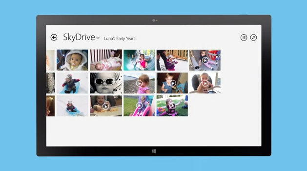 """Windows 8.1 makes cloud storage viable SkyDrive """"smart files"""" search from desktop"""