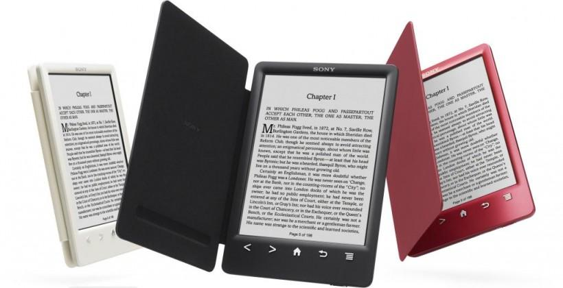 Sony Reader PRS-T3 announced, comes with built-in snap cover