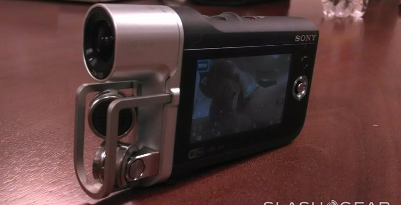 Sony Music Video Recorder HDR-MV1 official for those about to rock