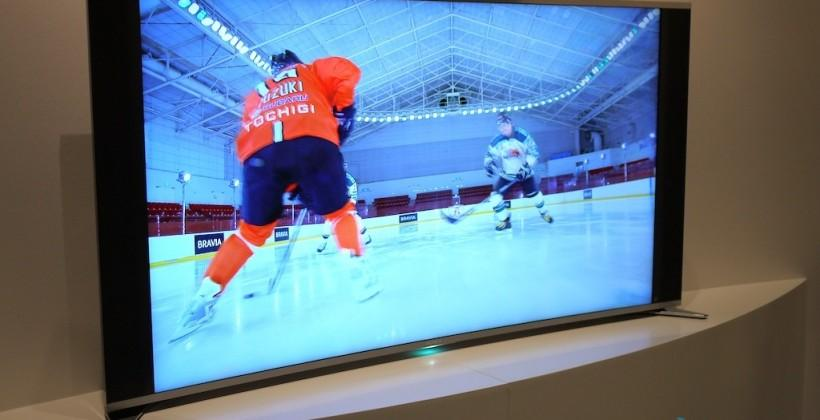 Sony KDL-65S990A Curved LED TV hands-on