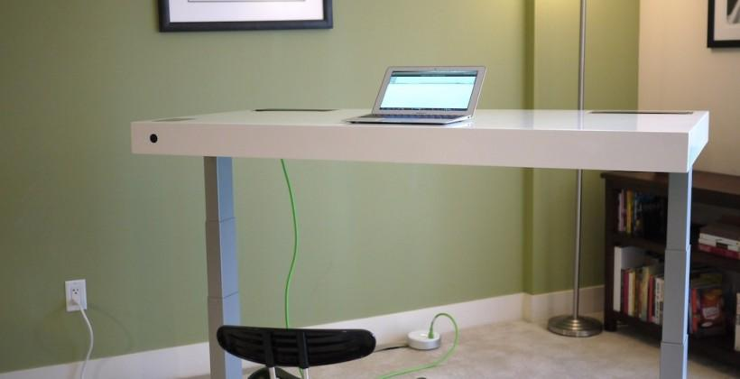 Stir Kinetic Desk hands-on: The standing desk gets smart