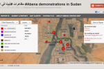 Ushahidi crowdmapping software reveals silenced Sudanese civil unrest