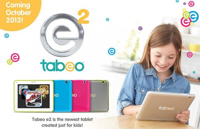 Tabeo e2 – kids focused 8-inch tablet