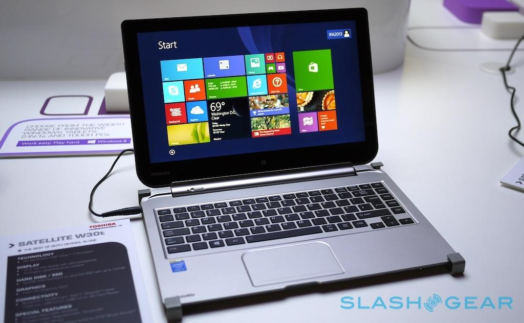 Toshiba Satellite Click W30Dt and W30t hands-on - SlashGear