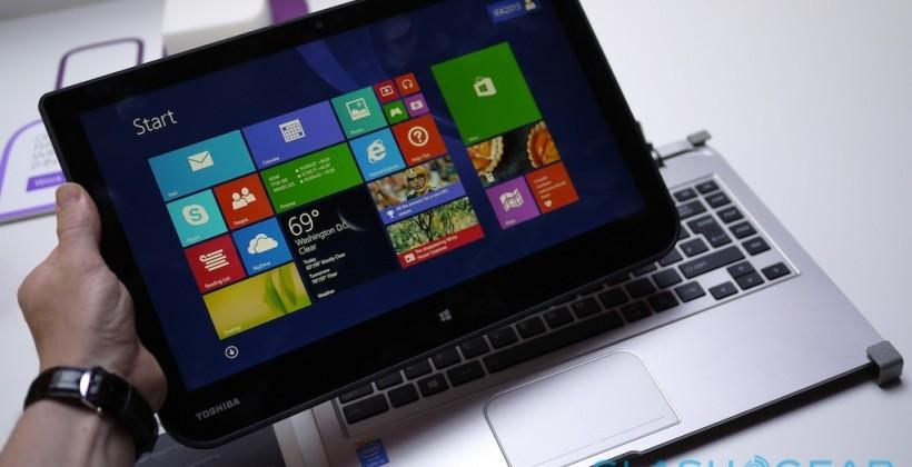 Toshiba Satellite Click W30Dt and W30t hands-on