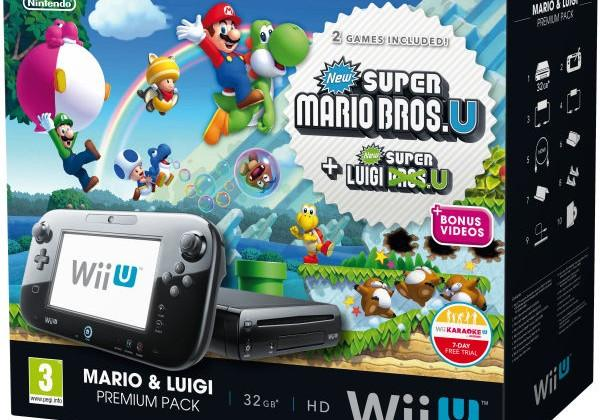New Nintendo Wii U bundles include the Mario & Luigi Premium Pack